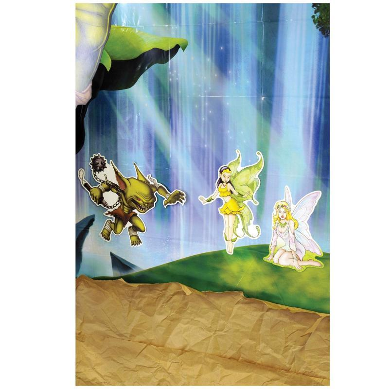 Fairy Cutouts (6/Pkg) by Beistle - Fantasy Theme Decorations
