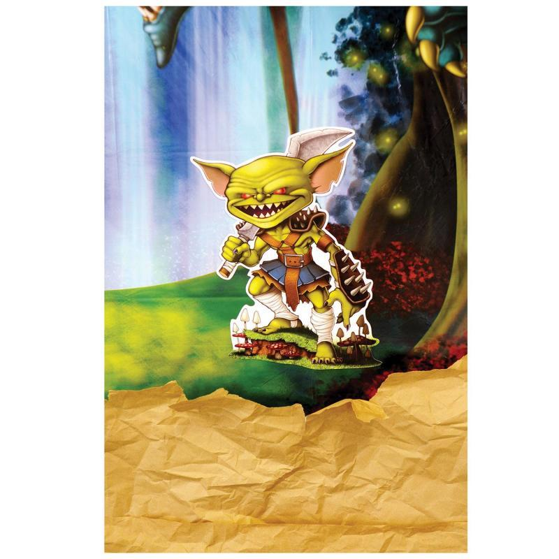Goblin Cutouts (6/Pkg) by Beistle - Fantasy Theme Decorations