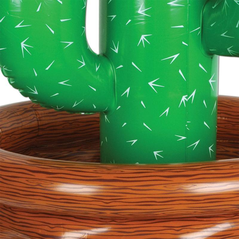Inflatable Cactus Cooler by Beistle - Western Theme Decorations