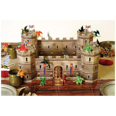 3-D Castle Centerpiece by Beistle -  Decorations
