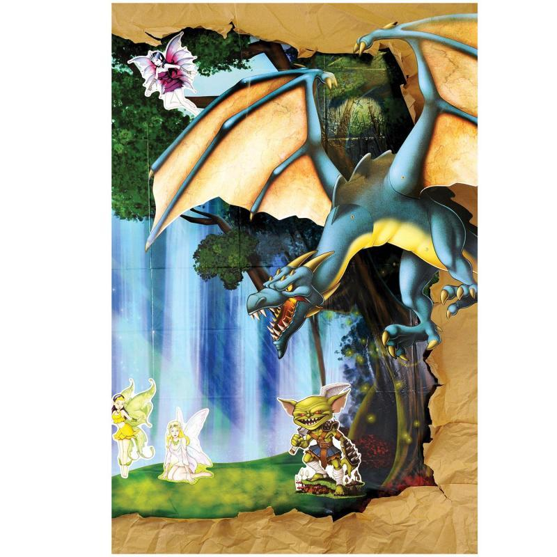 Jointed Dragon by Beistle - Fantasy Theme Decorations