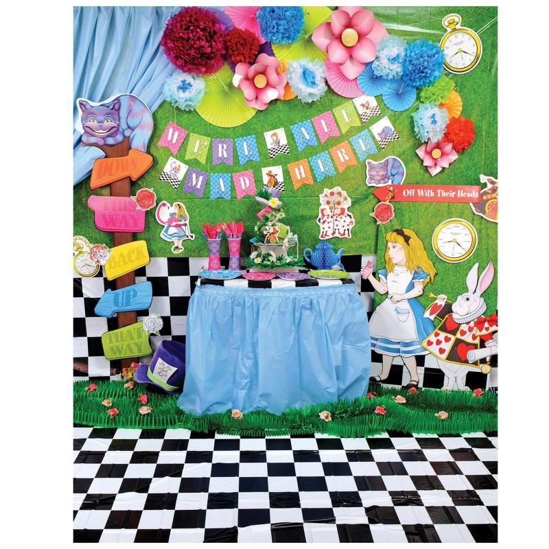 We're All Mad Here Streamer by Beistle - Alice In Wonderland Theme Decorations