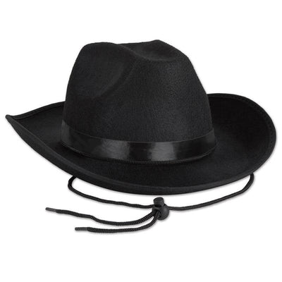 Black Felt Cowboy Hat by Beistle -  Decorations