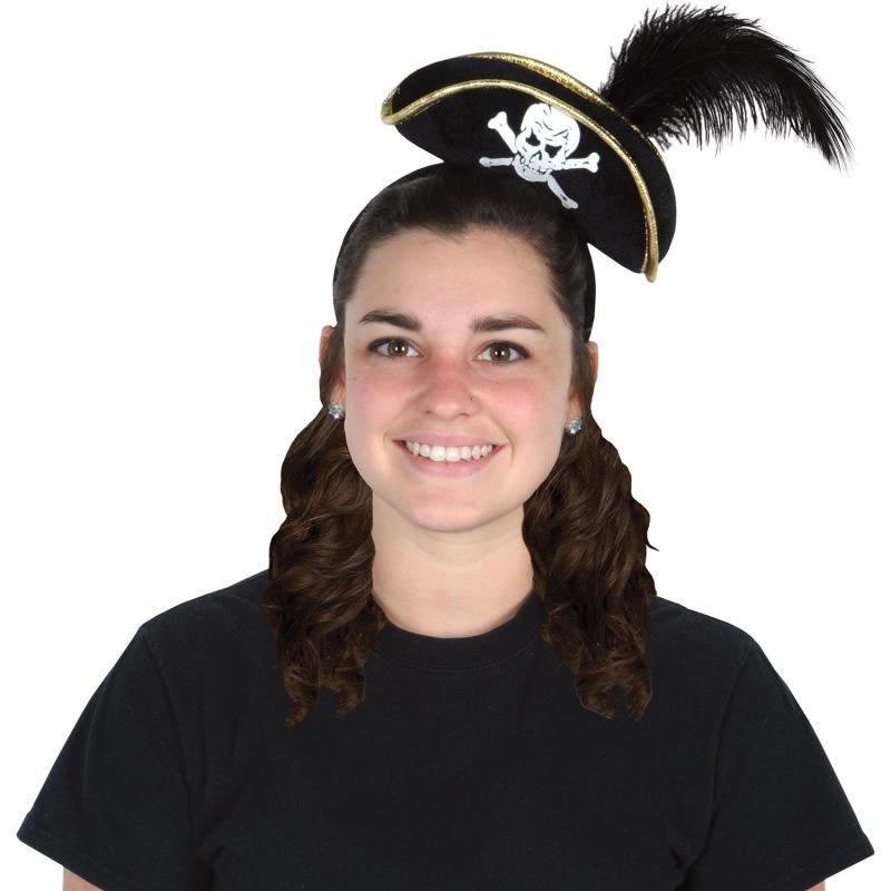 Pirate Hat Headband by Beistle - Pirate Theme Decorations