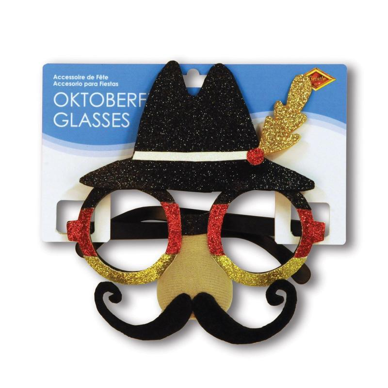 Oktoberfest Glasses by Beistle - Oktoberfest Theme Decorations