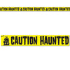 Caution Haunted Party Tape by Beistle - Halloween Theme Decorations