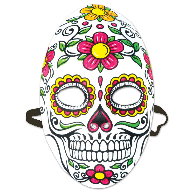 Day Of The Dead Mask by Beistle - Day of the Dead Theme Decorations