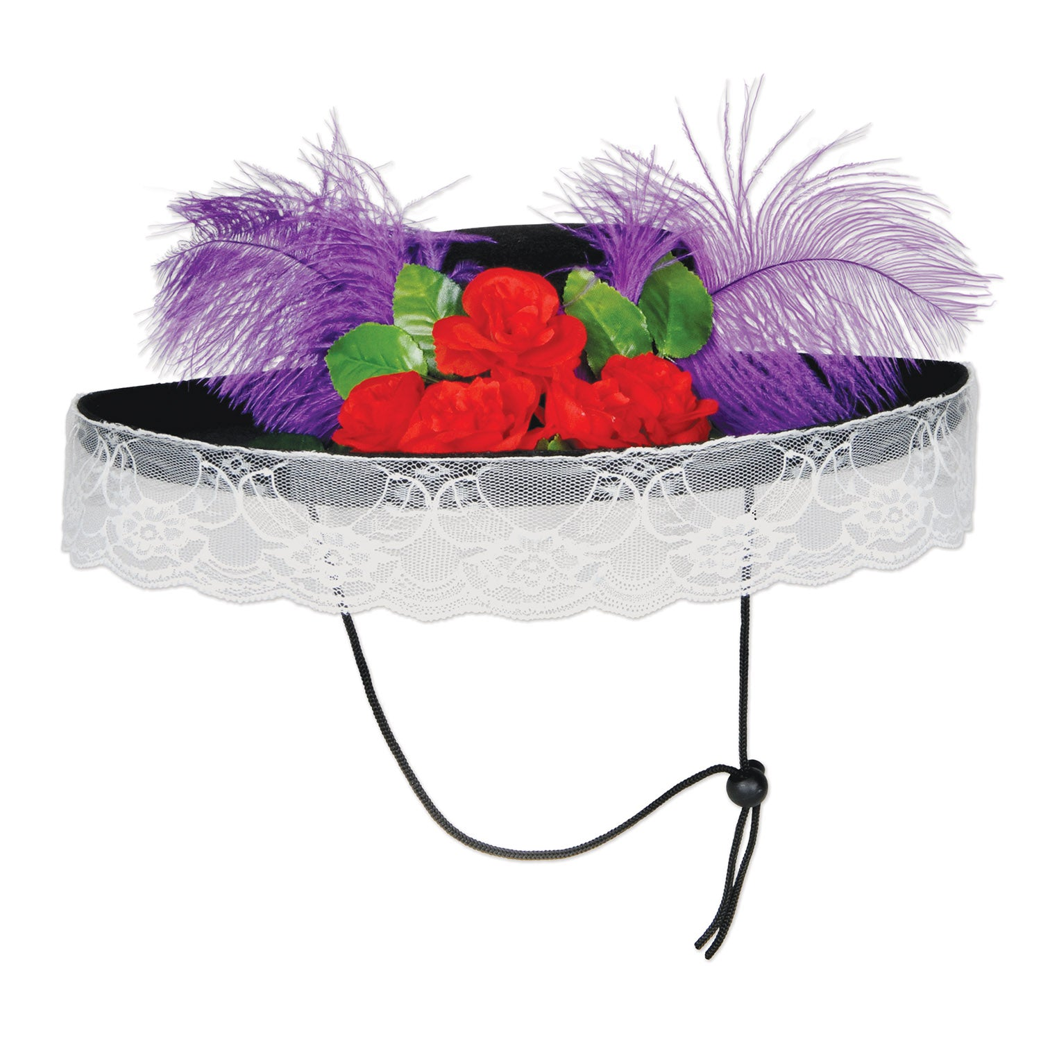 Felt Catrina Hat by Beistle - Day of the Dead Theme Decorations