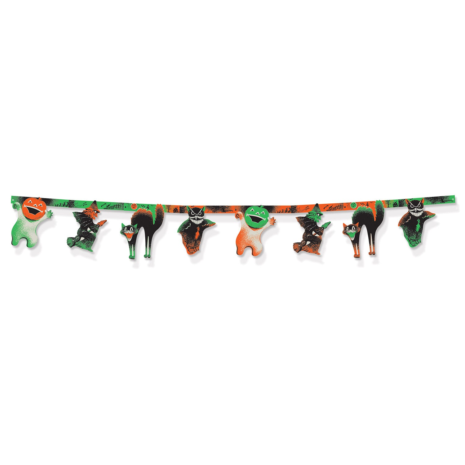 Vintage Halloween Streamer by Beistle - Halloween Theme Decorations