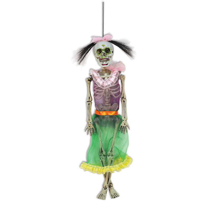 Day Of The Dead Female Skeleton by Beistle - Day of the Dead Theme Decorations