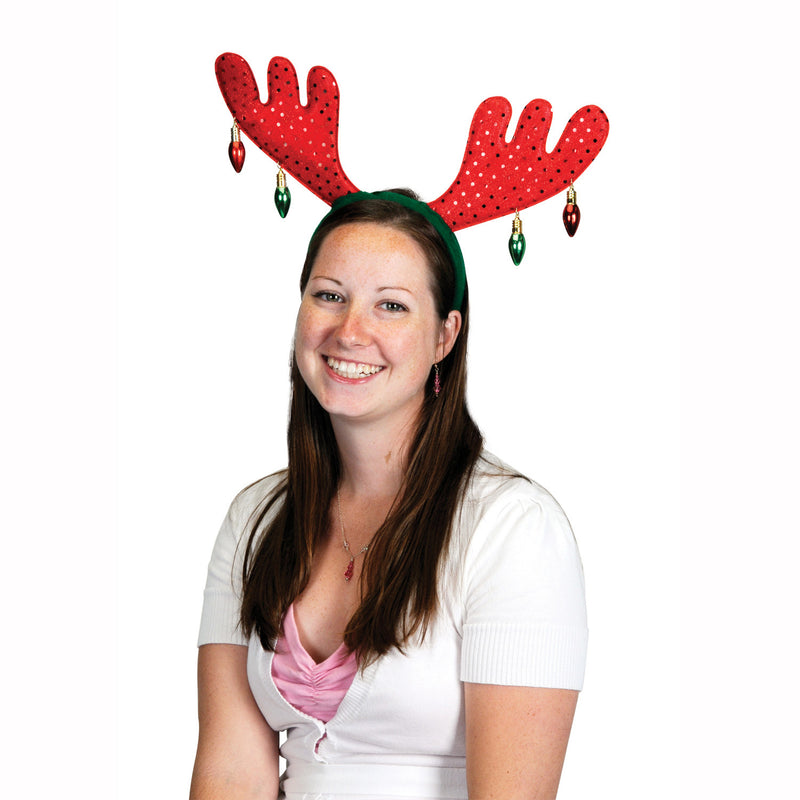 Christmas Antlers by Beistle - Winter and Christmas Theme Decorations