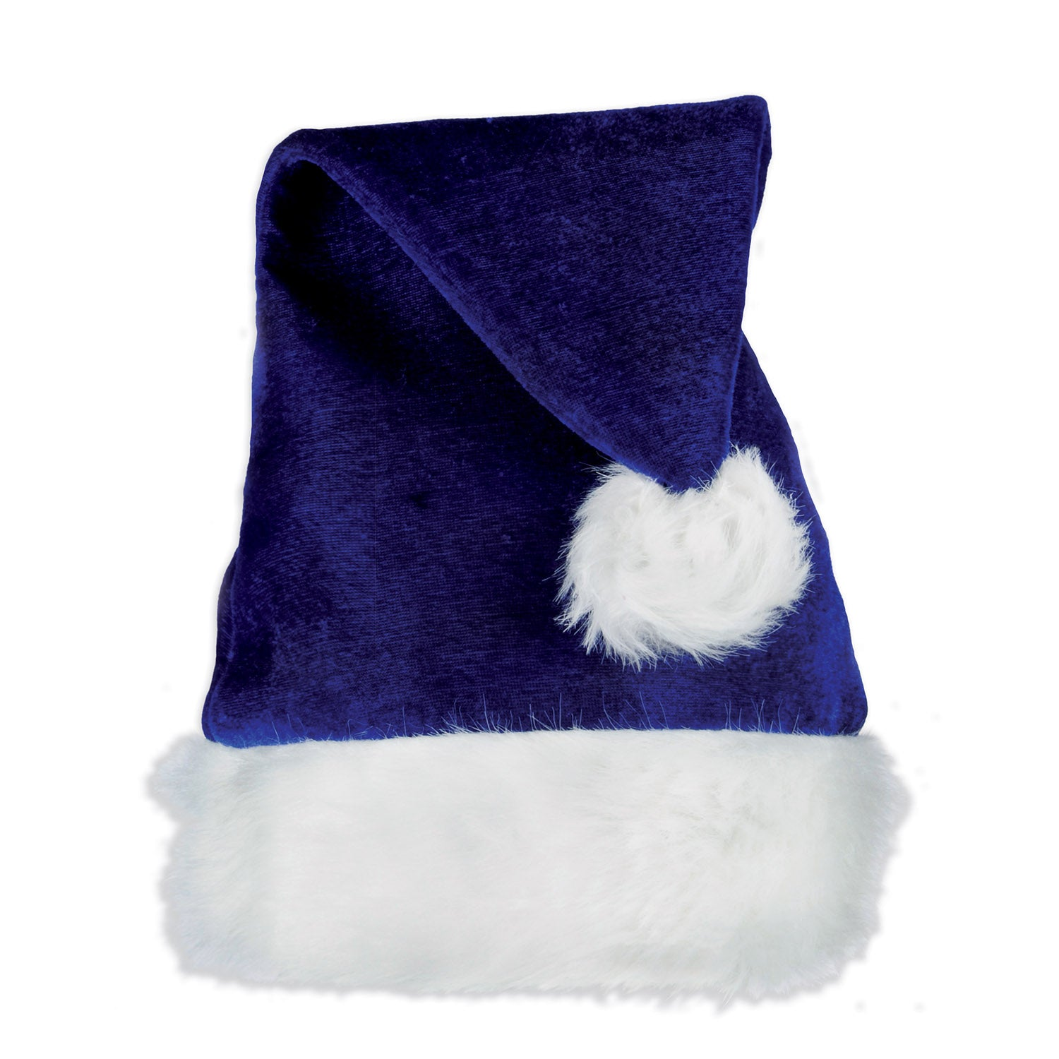 Santa Hat, blue by Beistle - Winter and Christmas Theme Decorations
