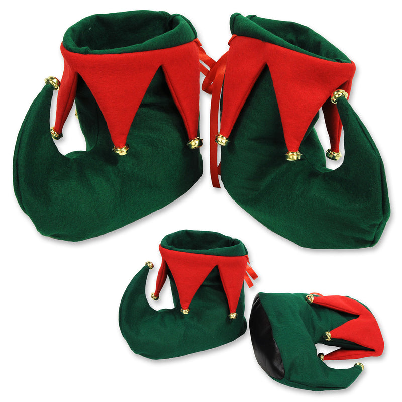 Elf Boots (1 Pair) by Beistle - Winter and Christmas Theme Decorations