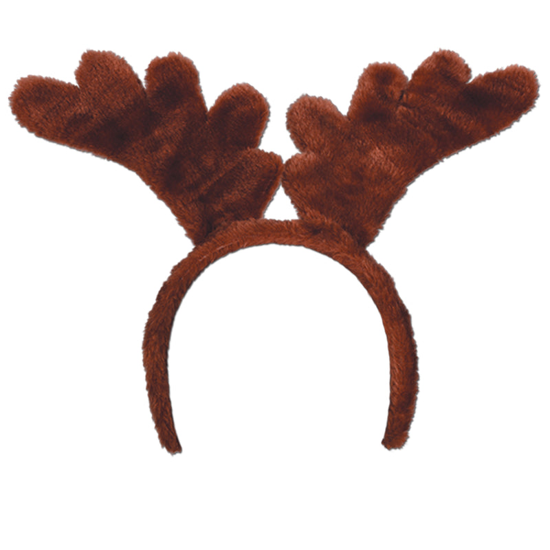 Soft-Touch Reindeer Antlers by Beistle - Winter and Christmas Theme Decorations