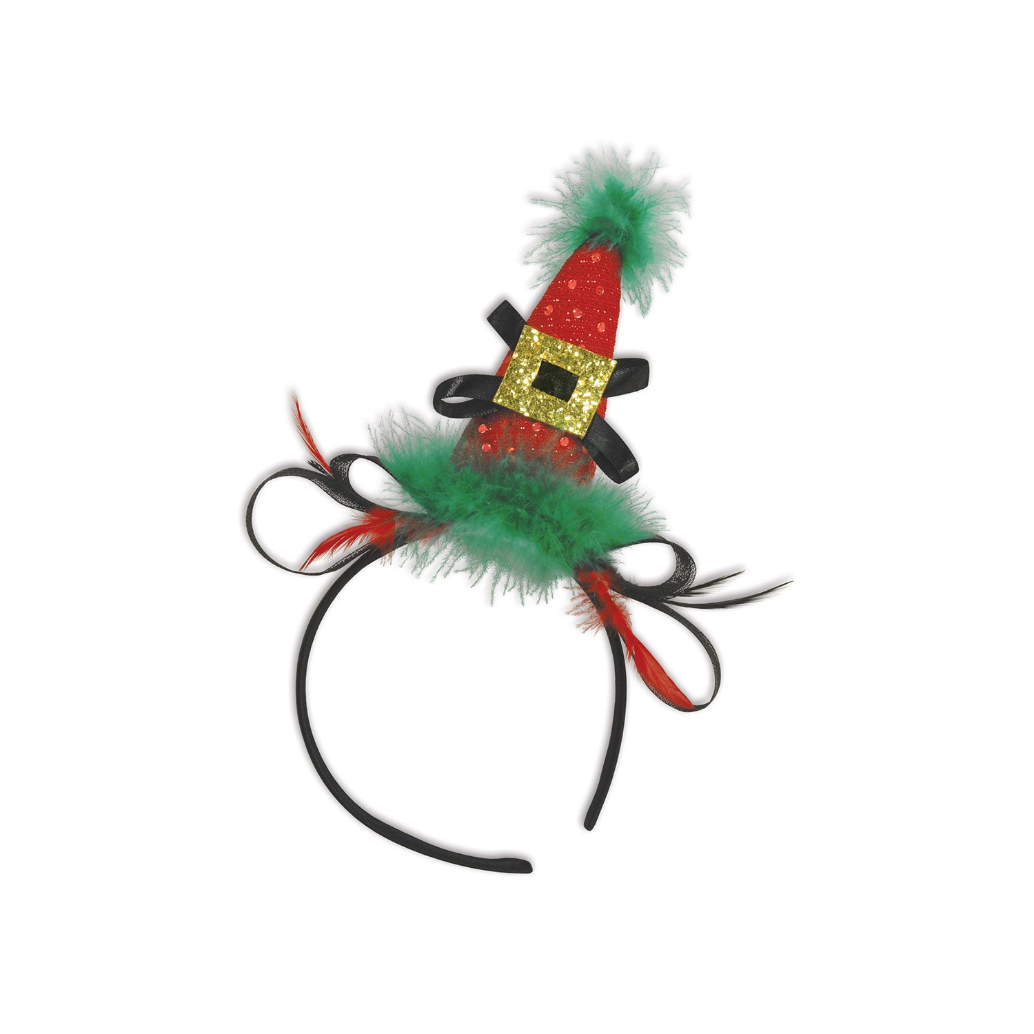 Holiday Hat Headband by Beistle - Winter and Christmas Theme Decorations