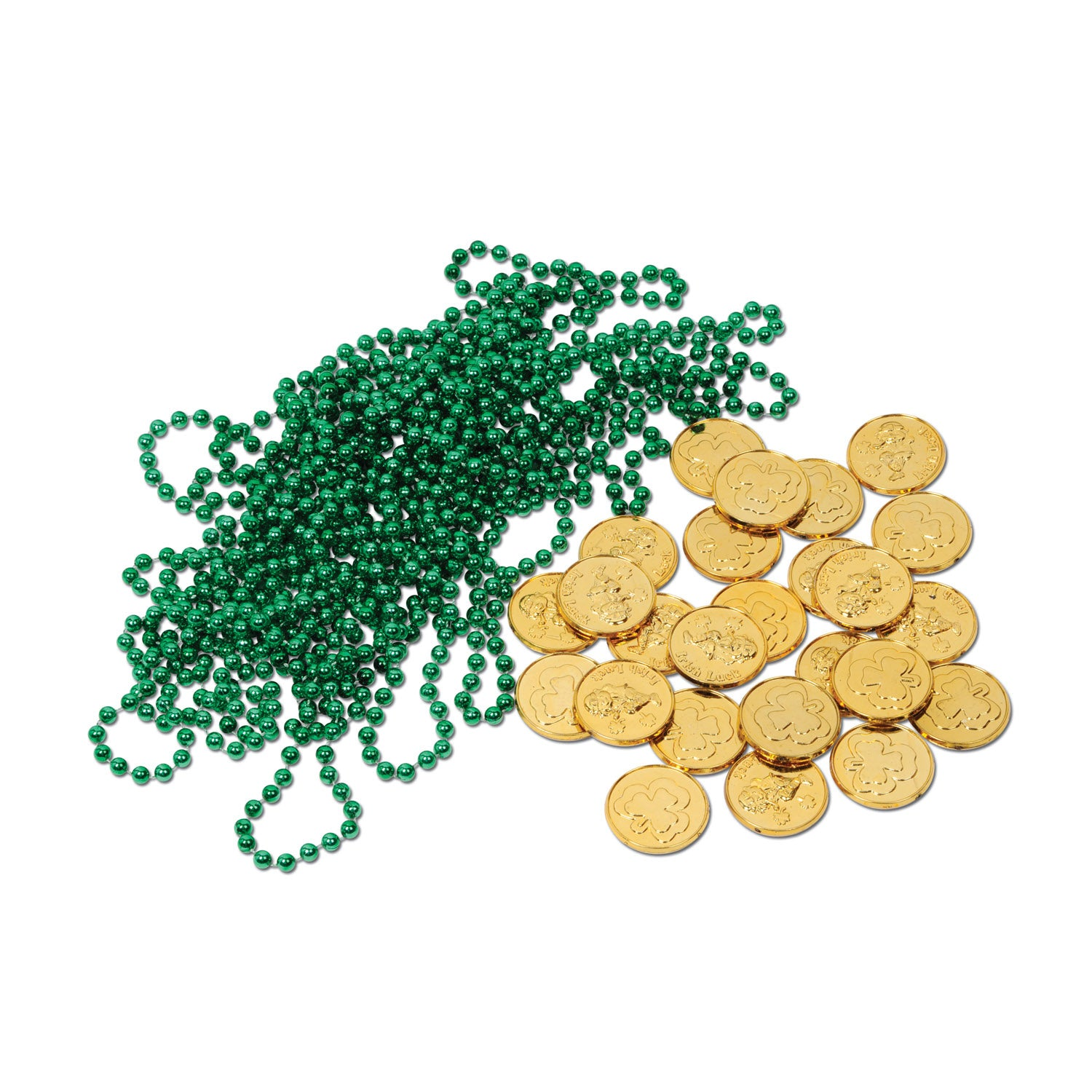 Leprechaun Loot (37/Pkg) by Beistle - St. Patricks Day Theme Decorations