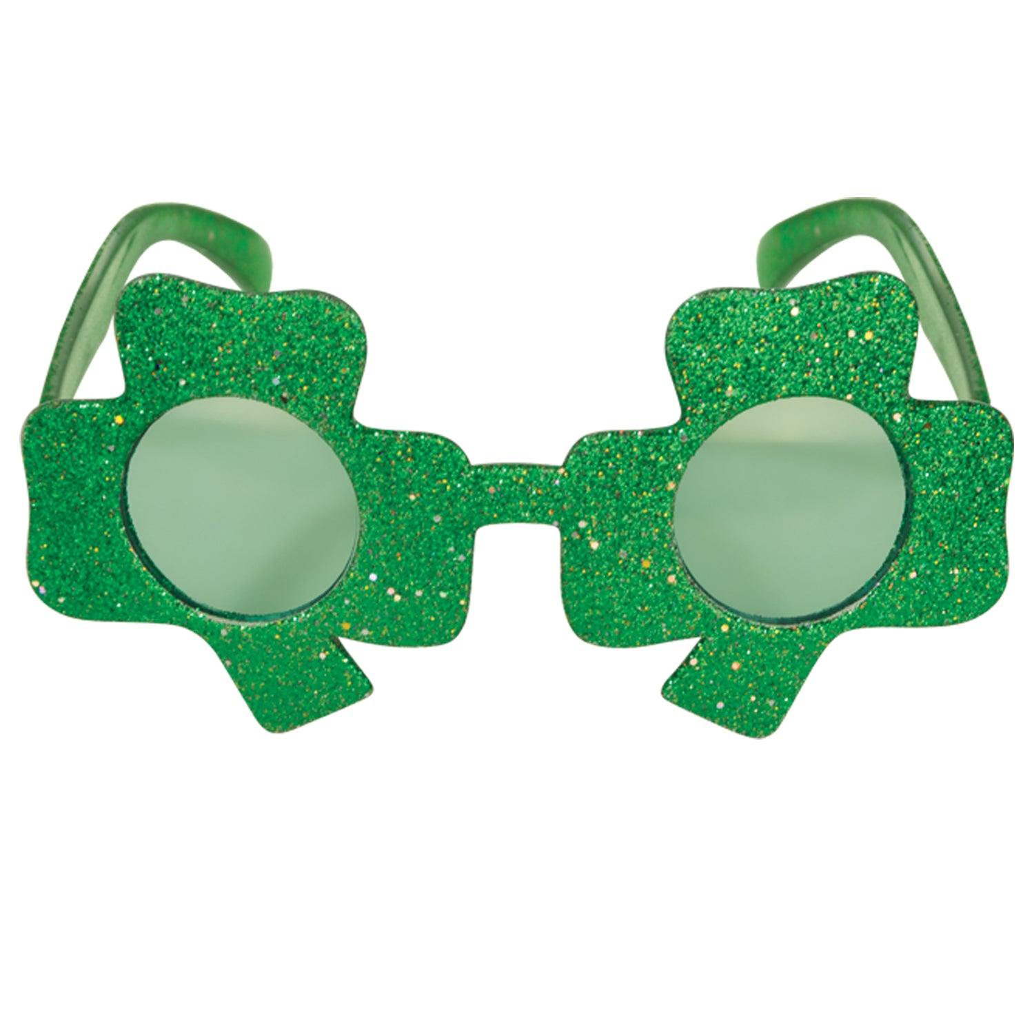 Glittered Shamrock Fanci-Frames by Beistle - St. Patricks Day Theme Decorations