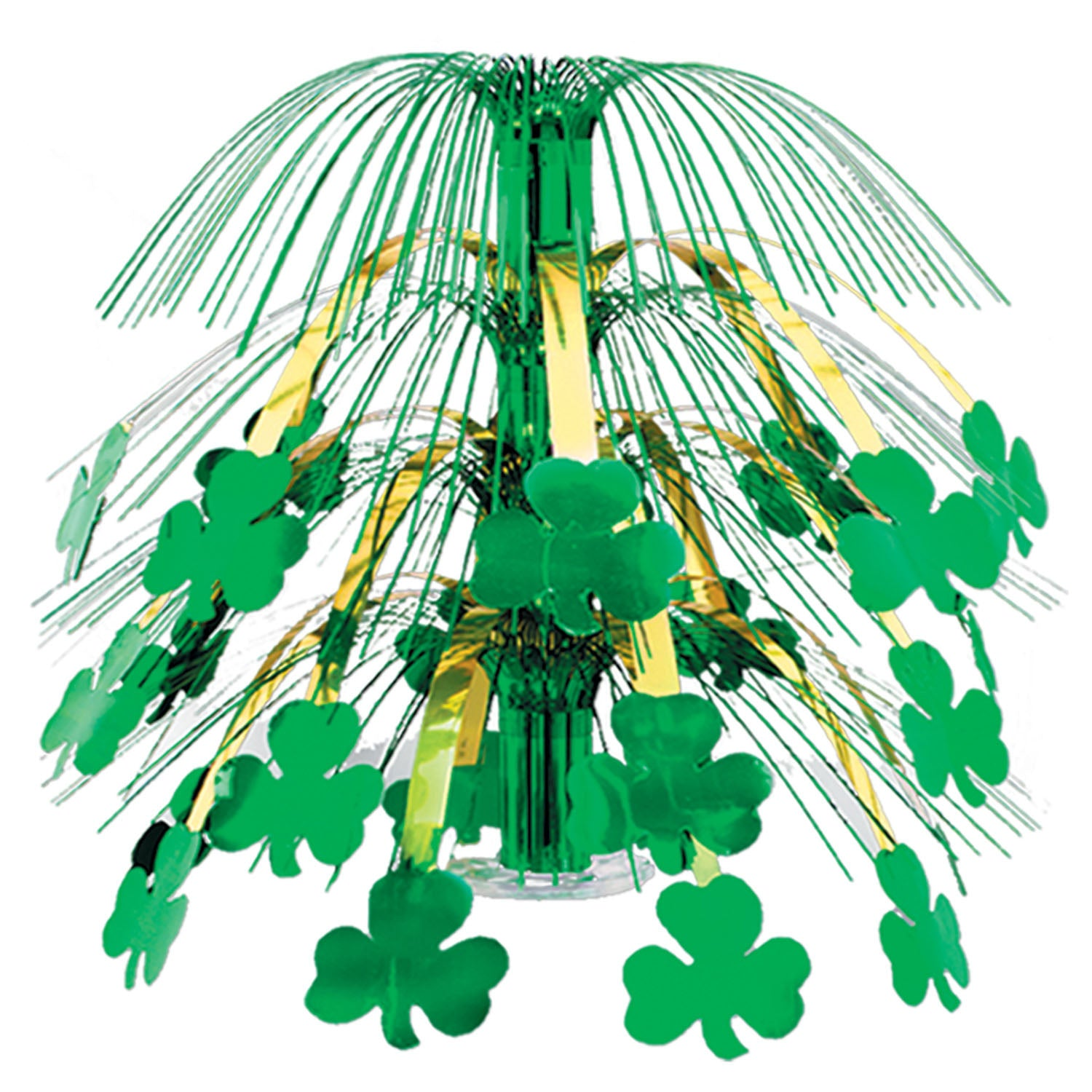 Shamrock Cascade Centerpiece by Beistle - St. Patricks Day Theme Decorations