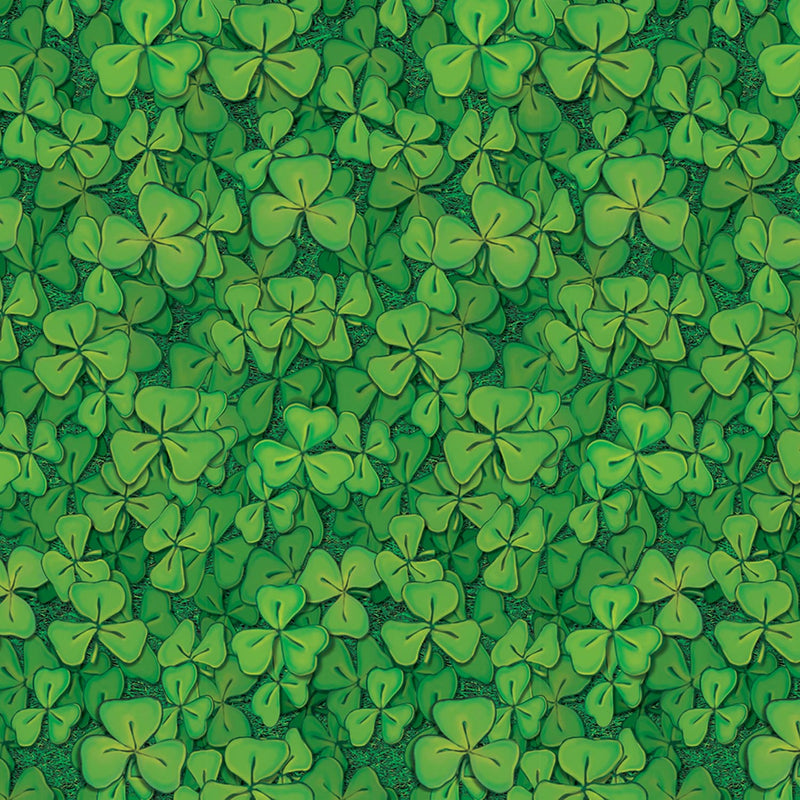 Clover Field Backdrop by Beistle - St. Patricks Day Theme Decorations