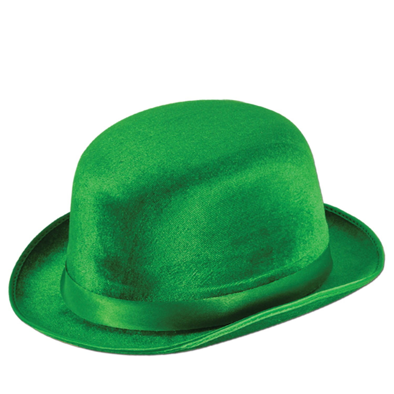 Green Vel-Felt Derby by Beistle - St. Patricks Day Theme Decorations