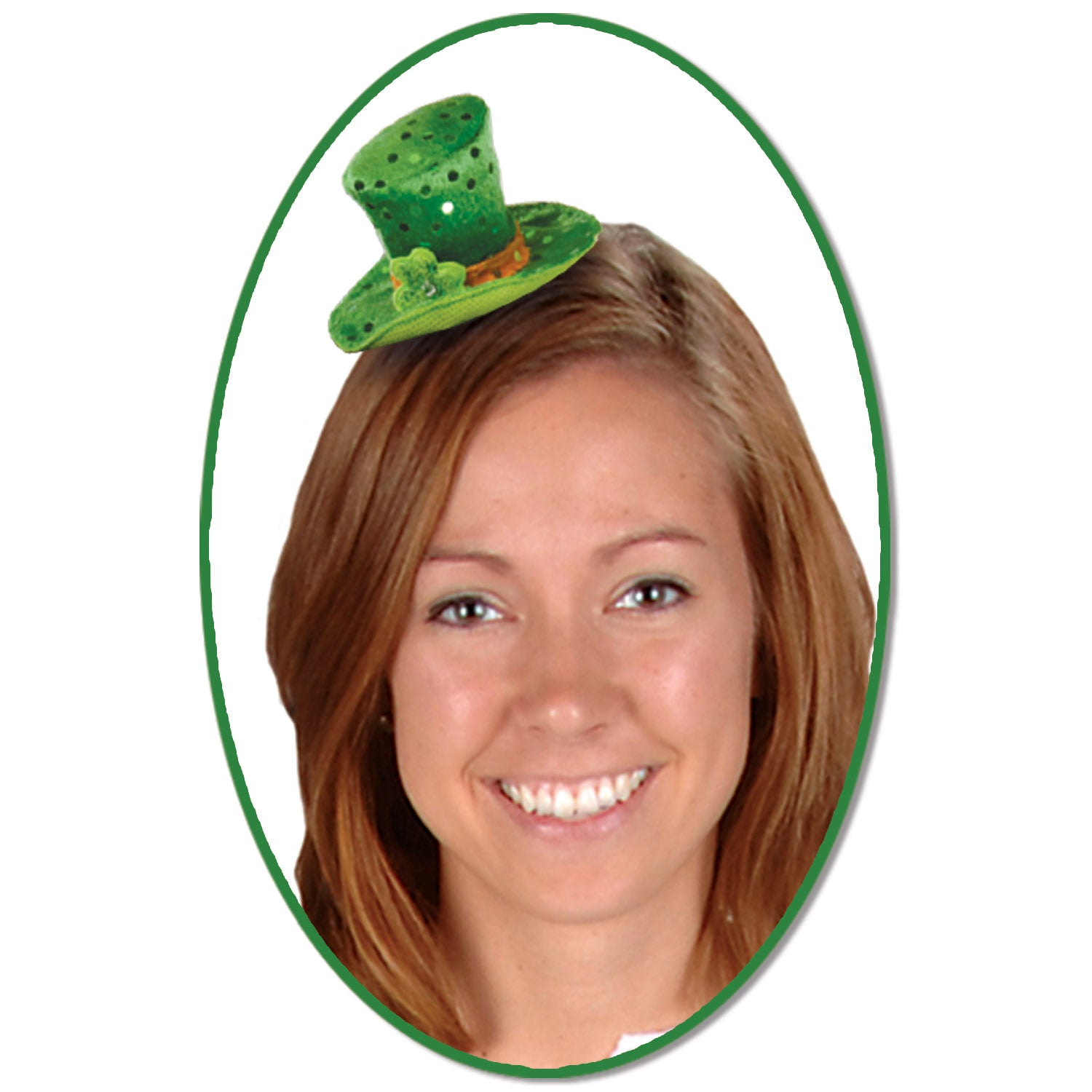 Leprechaun Hat Hair Clip by Beistle - St. Patricks Day Theme Decorations