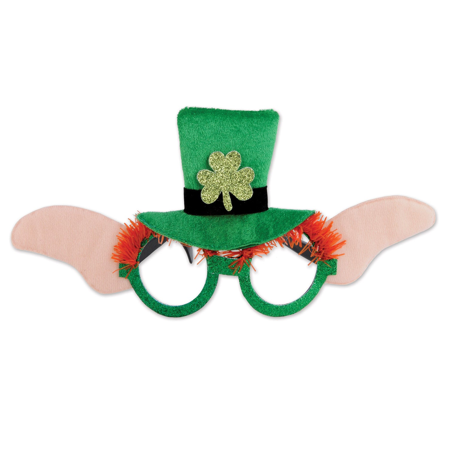 Leprechaun Glasses by Beistle - St. Patricks Day Theme Decorations