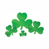 Foil Shamrock Cutout by Beistle - St. Patricks Day Theme Decorations