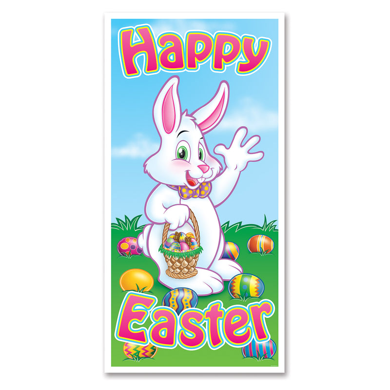 Easter Door Cover by Beistle - Easter Theme Decorations