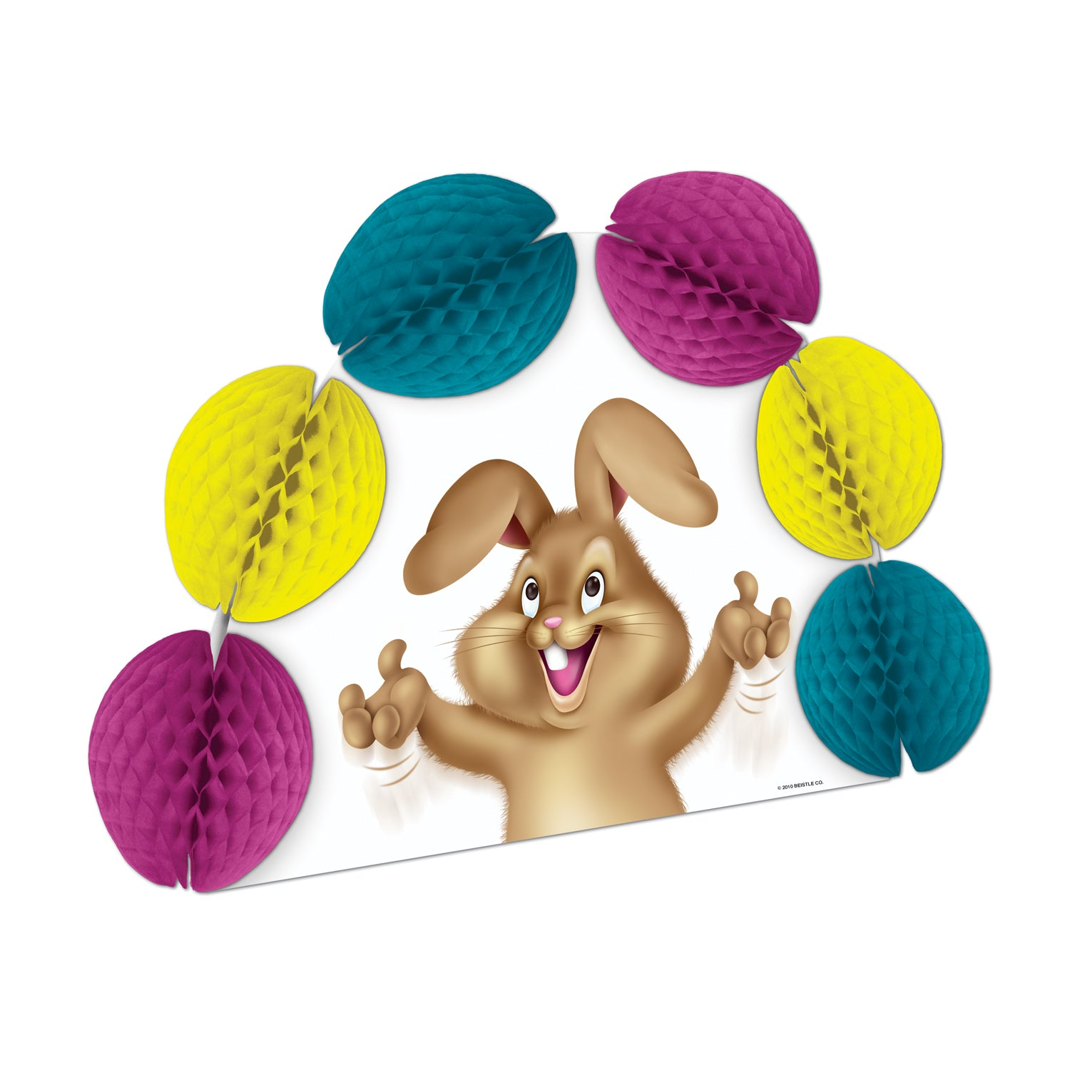 Easter Bunny Pop-Over Centerpiece by Beistle - Easter Theme Decorations