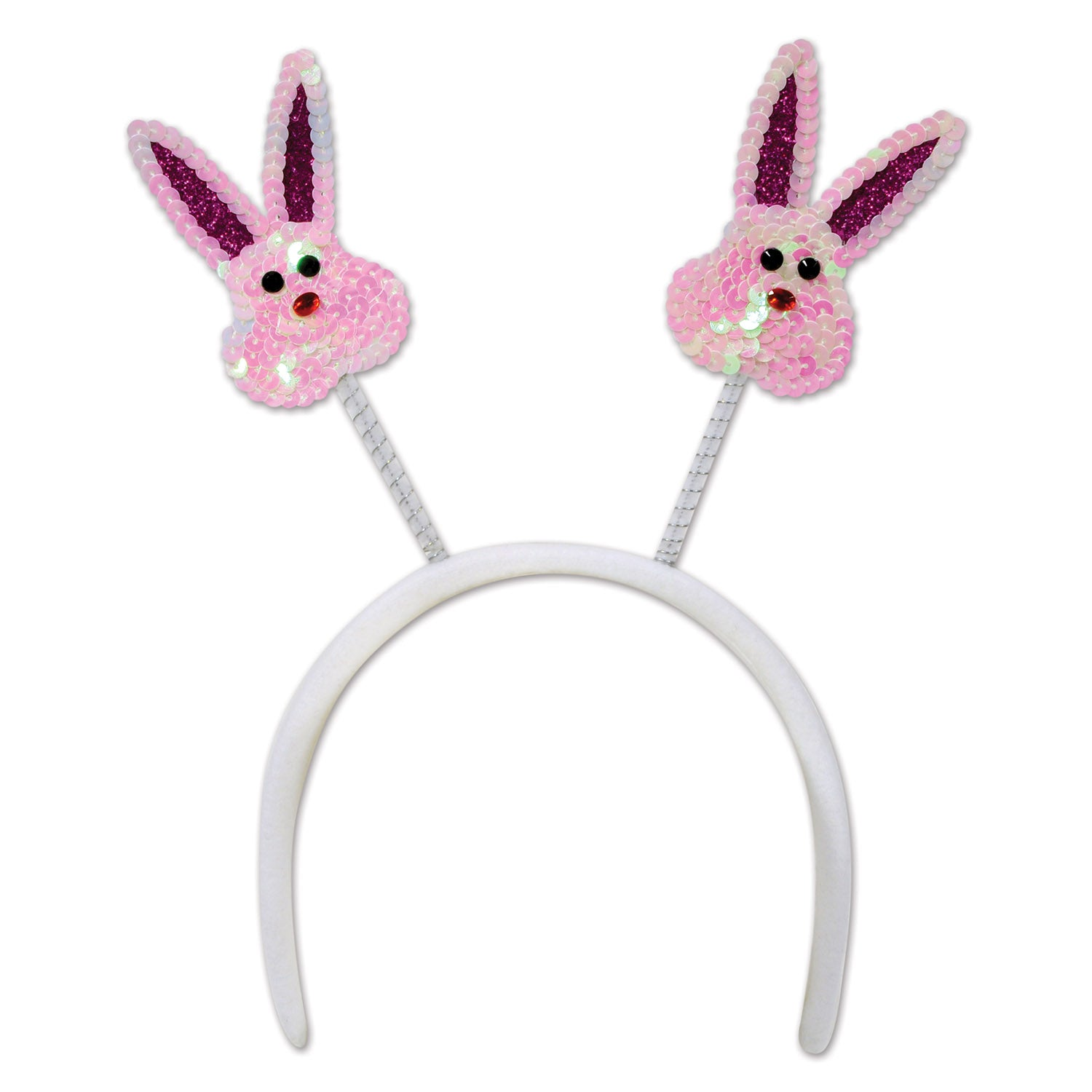 Sequined Bunny Boppers by Beistle - Easter Theme Decorations