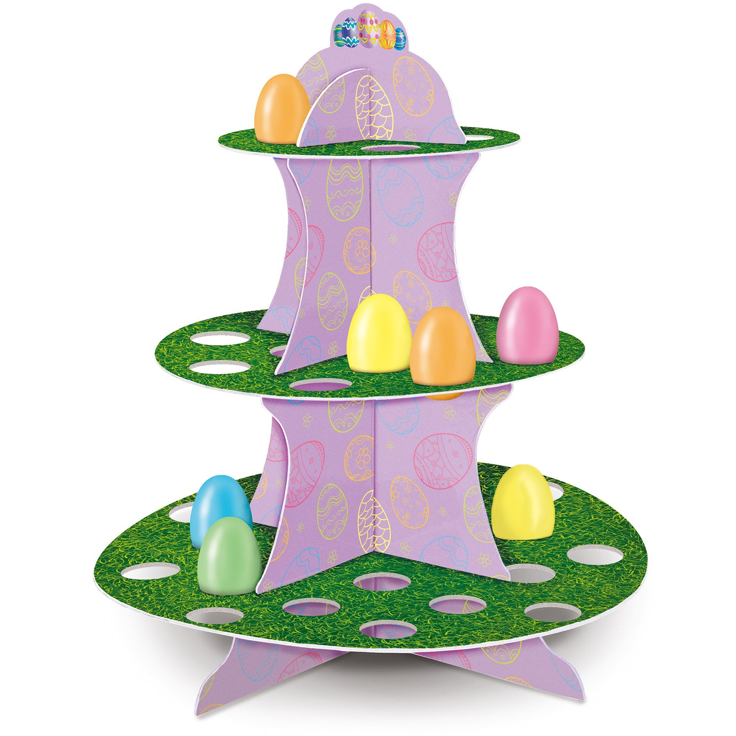 Easter Egg Stand by Beistle - Easter Theme Decorations