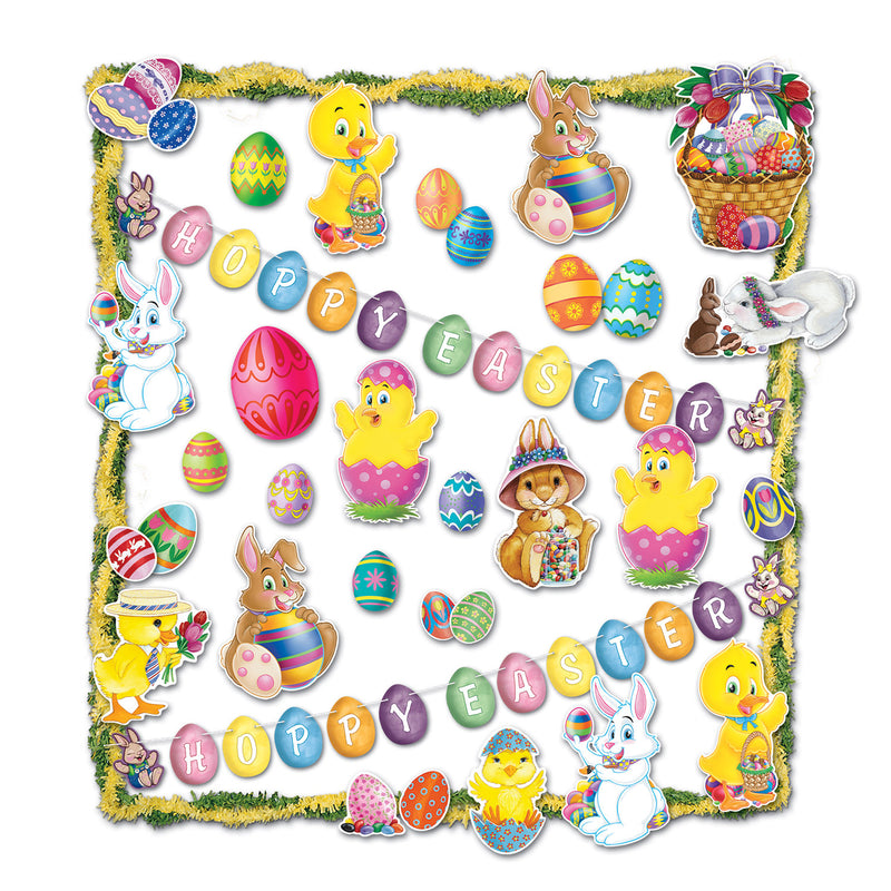 Easter Trimorama by Beistle - Easter Theme Decorations