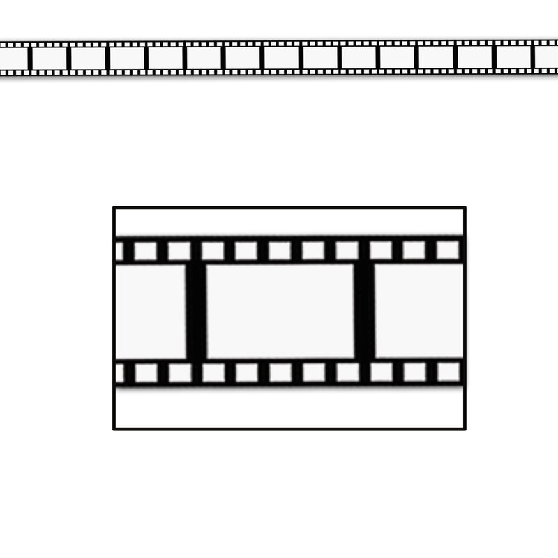Filmstrip Poly Decorating Material by Beistle - Awards Night Theme Decorations