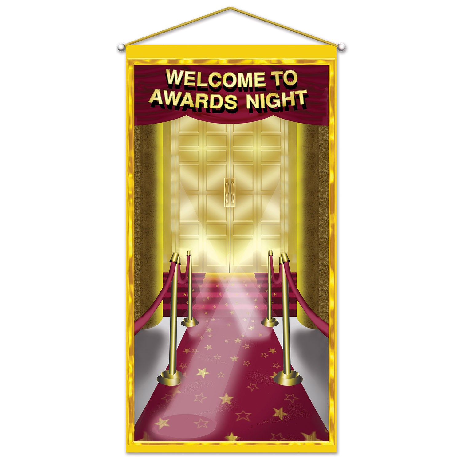 Awards Night Door/Wall Panel by Beistle - Awards Night Theme Decorations