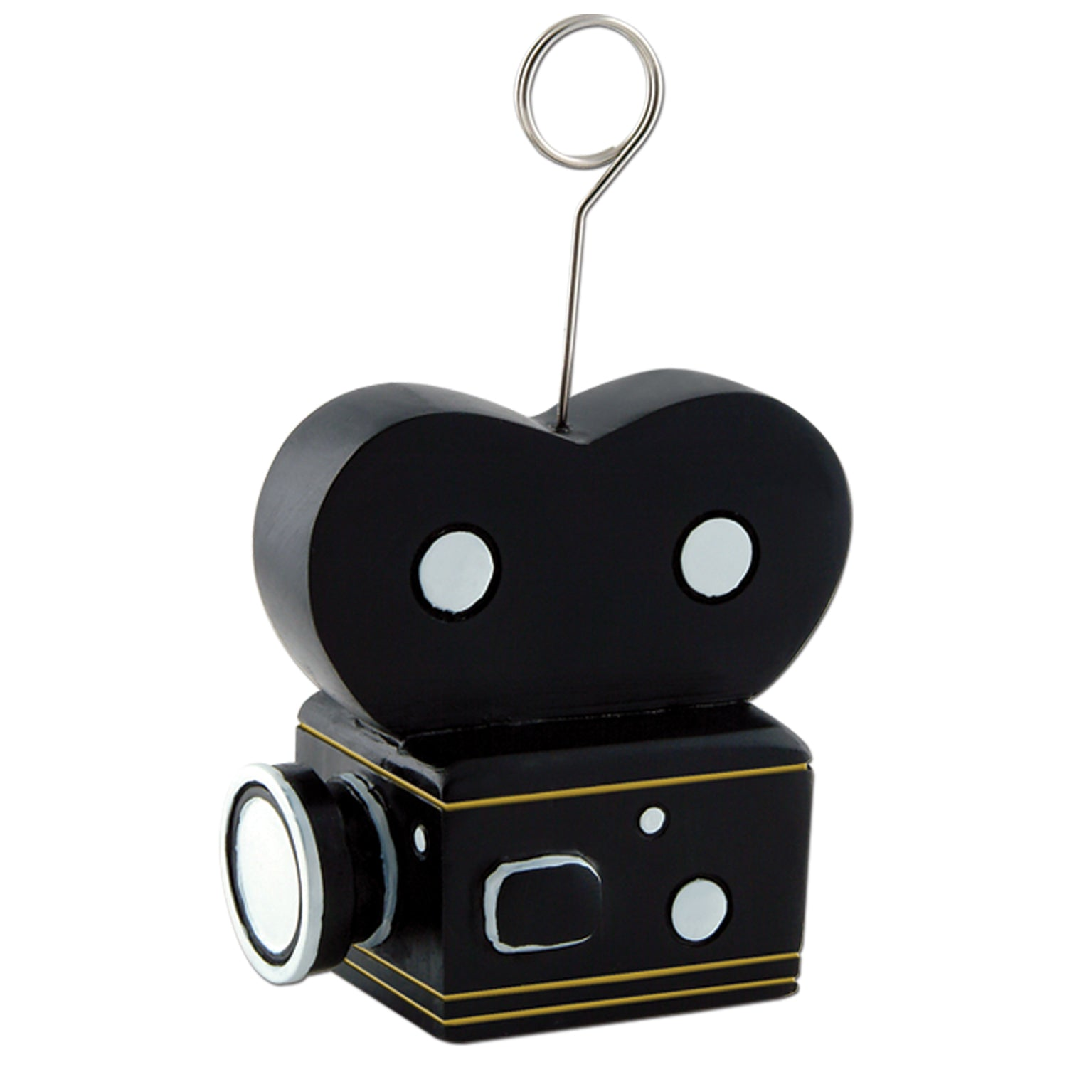 Movie Camera Photo/Balloon Holder by Beistle - Awards Night Theme Decorations