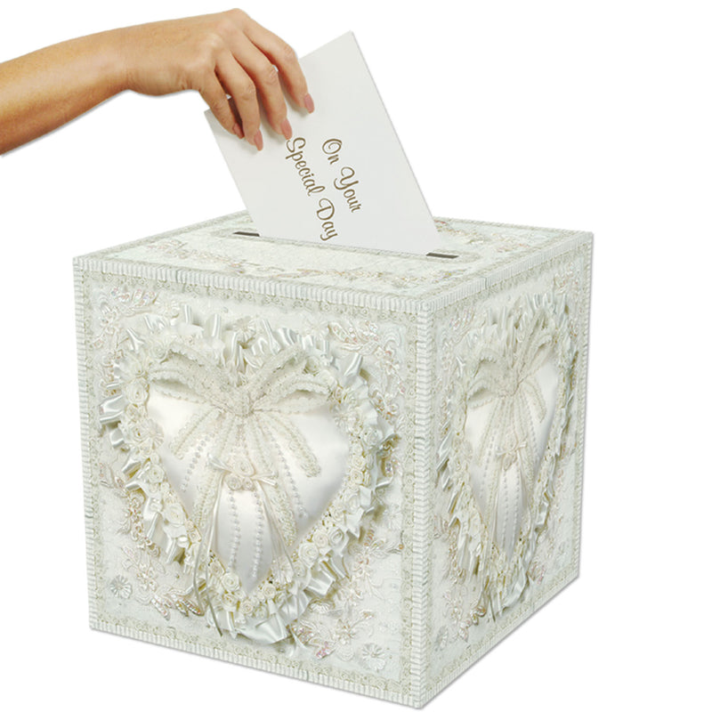 Card Box by Beistle - Wedding Theme Decorations