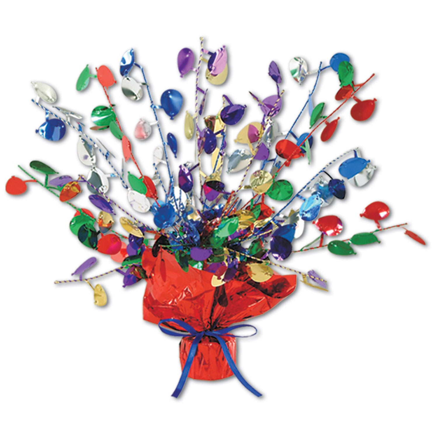 Balloon Gleam 'N Burst Centerpiece by Beistle - Birthday Party Supplies Decorations