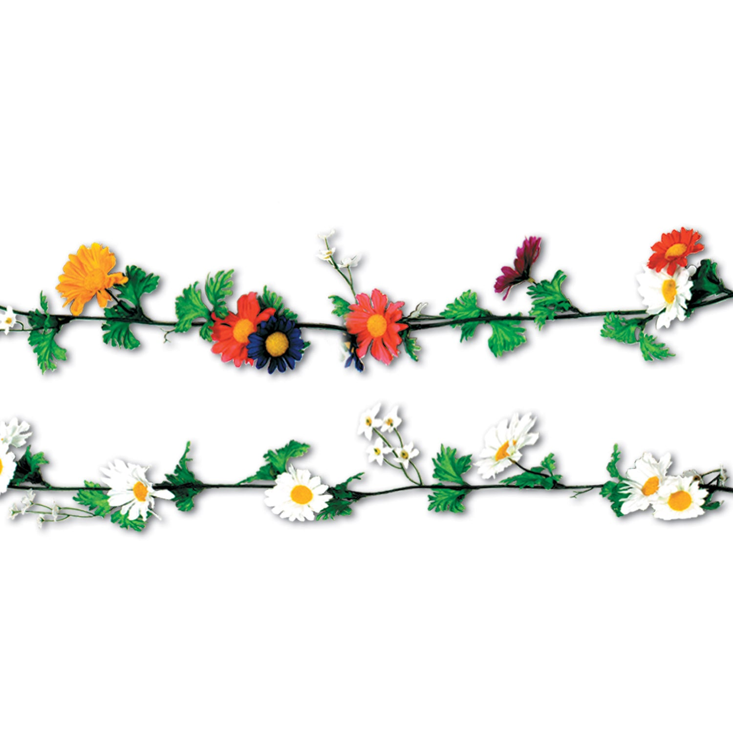 Daisy Garlands by Beistle - Spring/Summer Theme Decorations