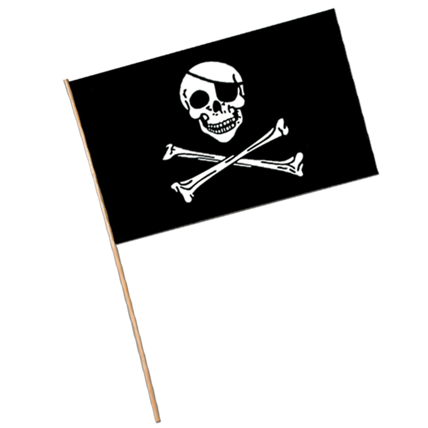 Pirate Flag - Plastic by Beistle - Pirate Theme Decorations