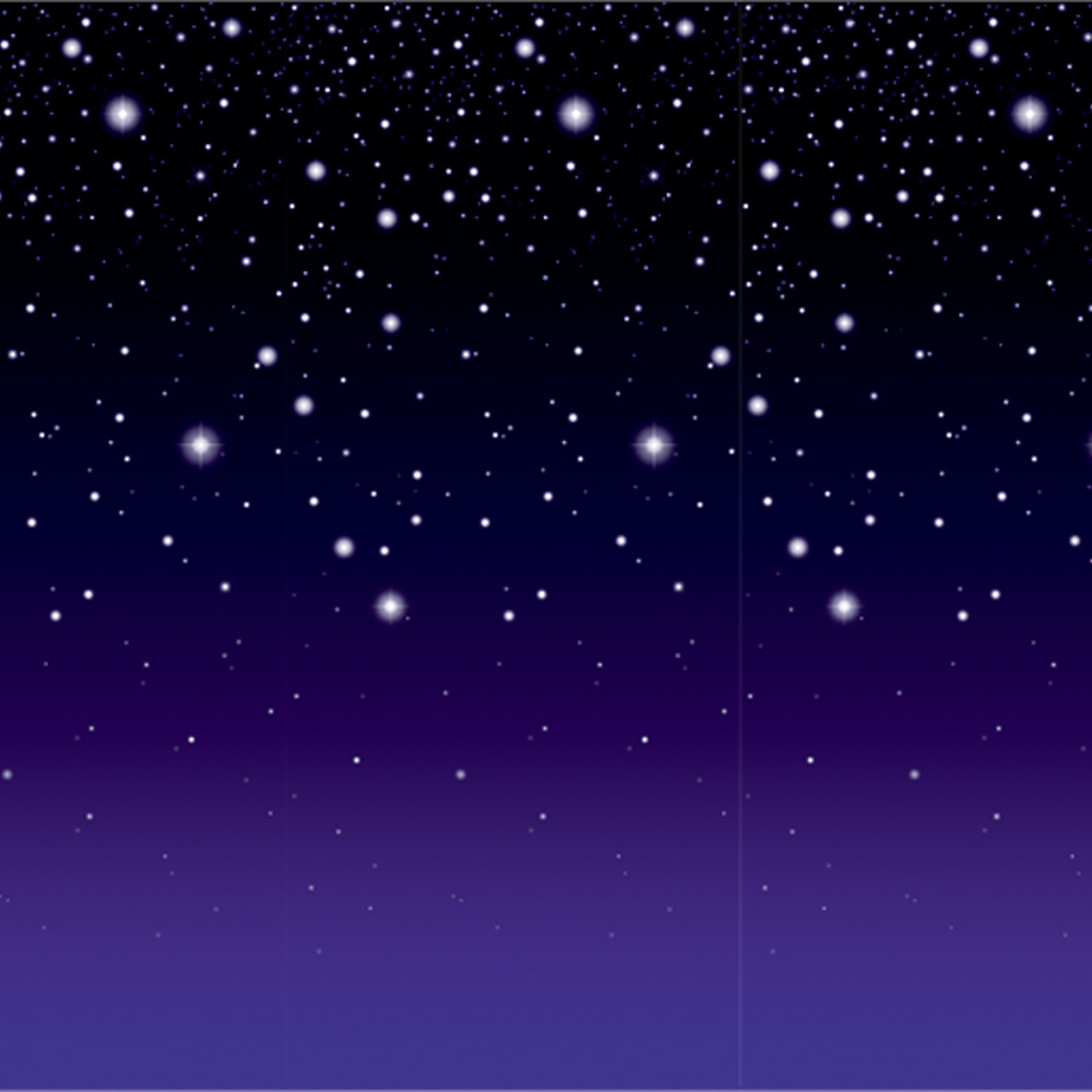 Starry Night Backdrop by Beistle - Awards Night Theme Decorations