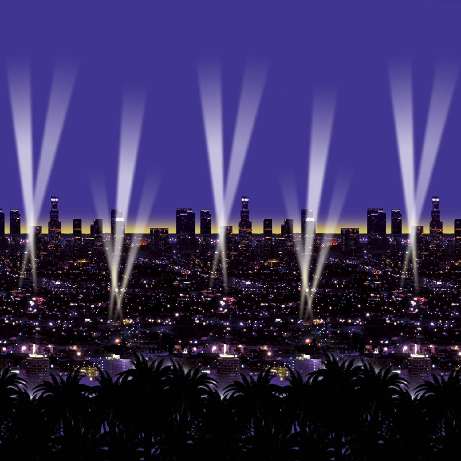 Skyline Backdrop by Beistle - Awards Night Theme Decorations