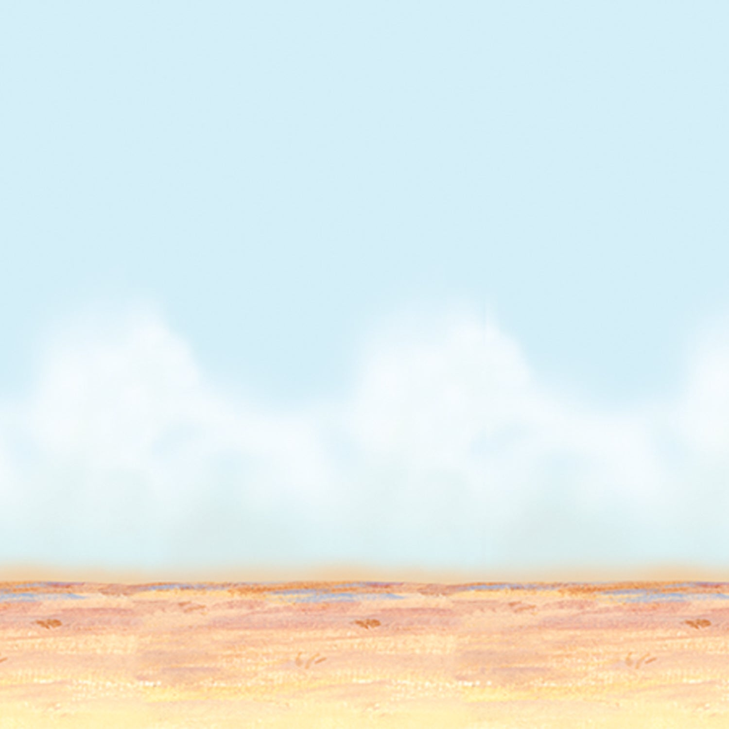 Desert Sky & Sand Backdrop by Beistle - Western Theme Decorations