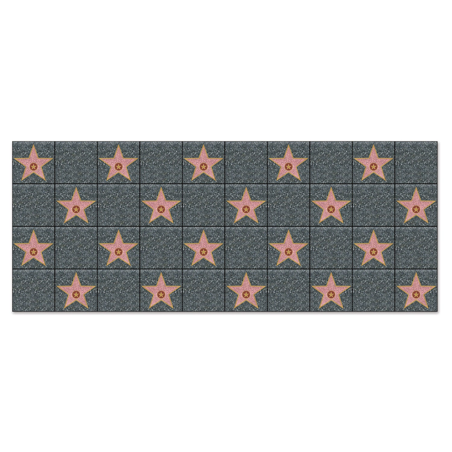 Star Backdrop by Beistle - Awards Night Theme Decorations