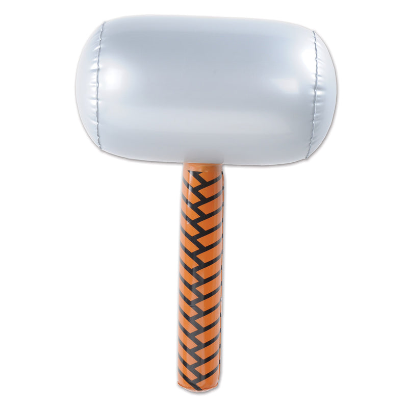 Inflatable Hammer by Beistle - Heroes Theme Decorations