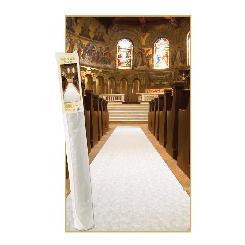 Elite Collection Aisle Runner by Beistle - Wedding Theme Decorations