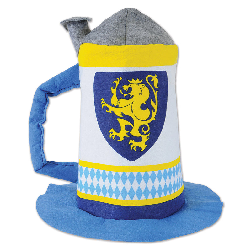 Felt Beer Stein Hat by Beistle - Oktoberfest Theme Decorations