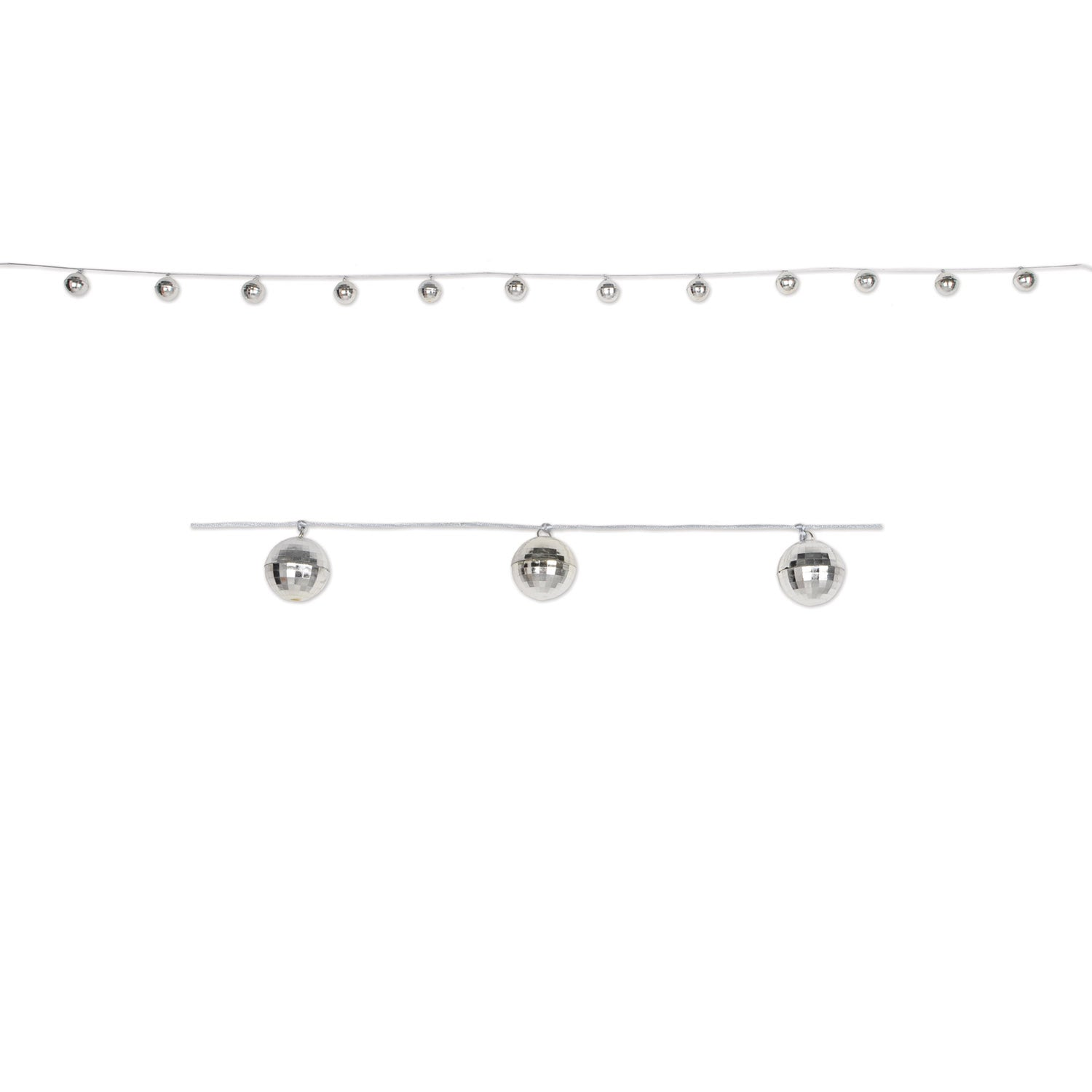 Disco Ball Garland by Beistle - 70's Theme Decorations