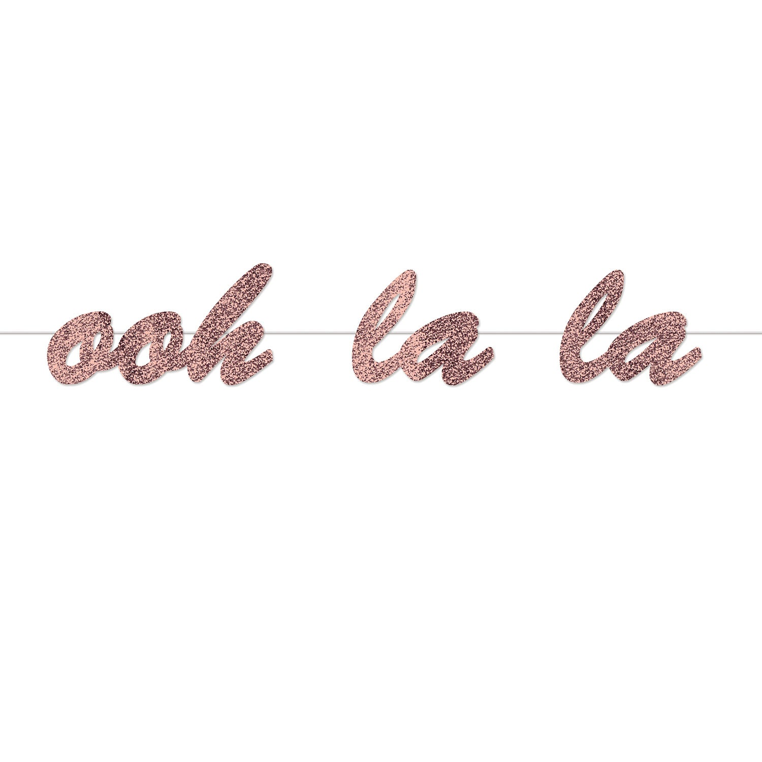 Ooh La La Streamer by Beistle - French Theme Decorations