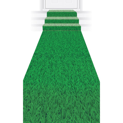 Grass Runner by Beistle - Football Theme Decorations