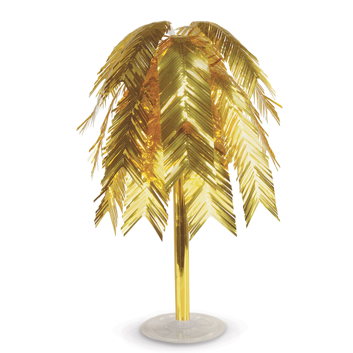 Metallic Cascade Centerpiece, gold by Beistle - 20's Theme Decorations